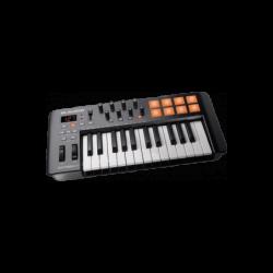 clavier-maître USB MIDI 25 notes 8 pads